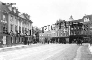 Blandford, High Street c1910