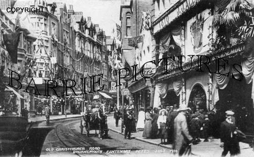 Bournemouth, Old Christchurch Road Centenary Fetes 1910