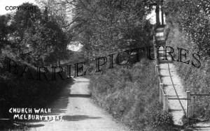 Melbury Abbas, Church Walk c1920