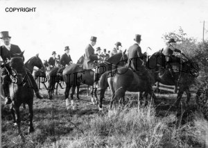 Semley, South and West Wilts Opening Meet Nov 1st 1926