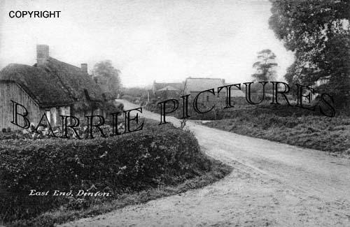 Dinton, East End c1905