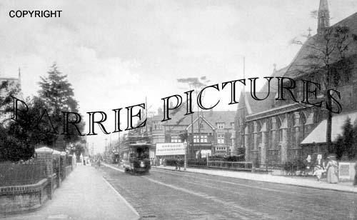 Boscombe, Christchurch Road 1915