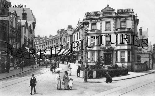 Bournemouth, Commercial Road 1907