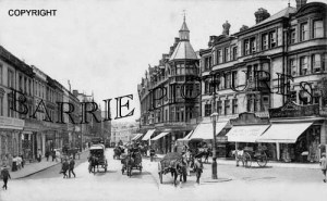 Bournemouth, Old Christchurch Road 1909