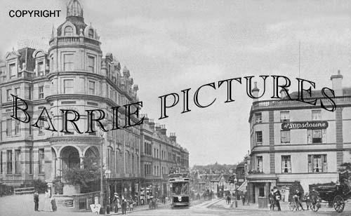 Bournemouth, Old Christchurch Road 1908