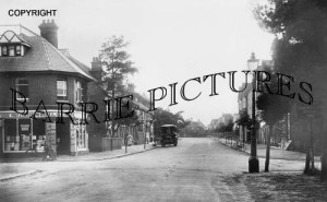 Canford Cliffs, Haven Road 1905