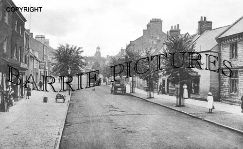 Bridport, South Street 1917