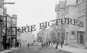 Lyme Regis, Broad Street 1900