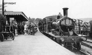 Lyme Regis, Station c1930