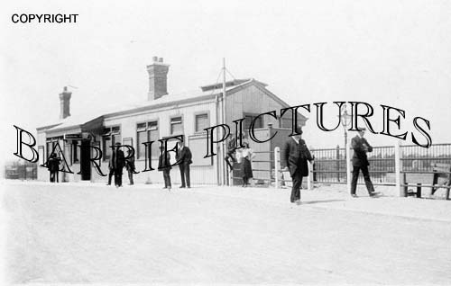 Melcombe Regis, Railway Station c1910
