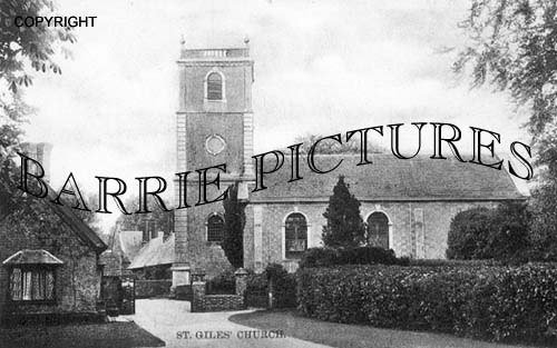 Wimborne St Giles, Church c1900