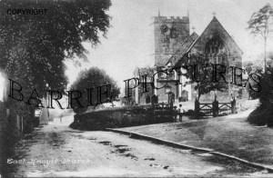 East Knoyle, Church c1900