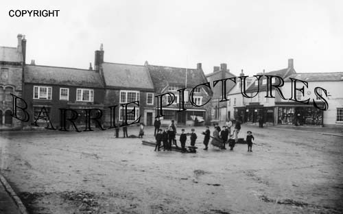 Beaminster, Market Place c1905