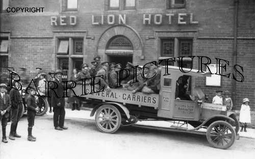 Beaminster, Red Lion Hotel c1920