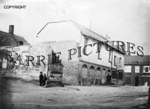 Beaminster, Market House c1865 Demolished 1886