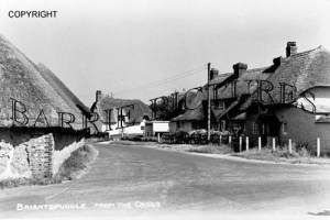 Briantspuddle, from the Cross c1930