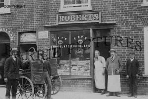 Bridport, Roberts Bakery c1905