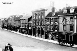 Blandford, Market Place c1905