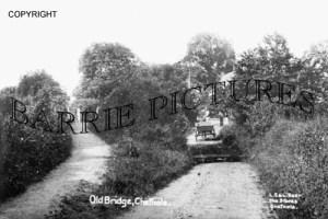 Chetnole, Old Bridge c1890