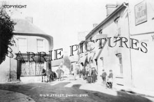 Shaftesbury, The Ship Hotel c1890