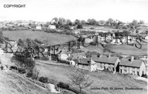 Shaftesbury, Jubilee Path St James c1910