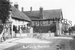 Marnhull, Burton Street c1930