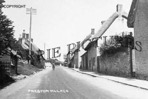 Preston, Village c1940