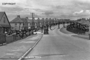 Wyke Regis, Portland Road c1940