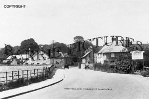 Charlton Marshall, Village c1930