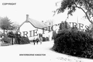 Winterbourne Kingston, Village c1900