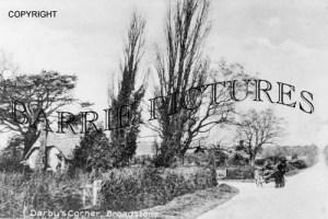 Broadstone, Darbys Corner c1890