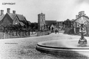 Hinton Martell, Village c1910