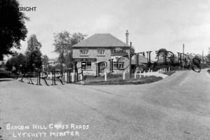 Lytchett Minster, Beacon Hill Cross Roads c1930