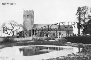 Hazelbury Bryan, Church c1890