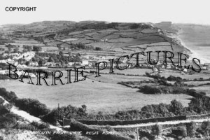 Charmouth, from Lyme Regis Road c1940