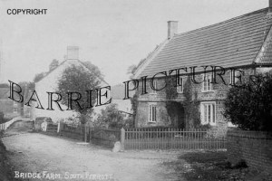 South Perrott, Bridge Farm c1900