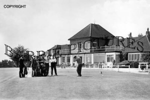 Ferndown, The Clubhouse c1960