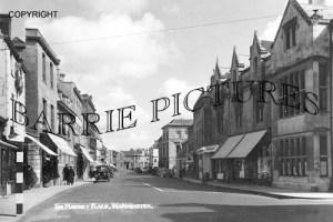 Warminster, The Market Place c1945