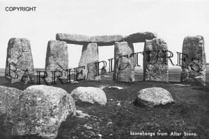 Stonehenge, from Altar Stone c1920