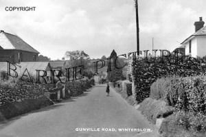 Winterslow, Gunville Road c1930