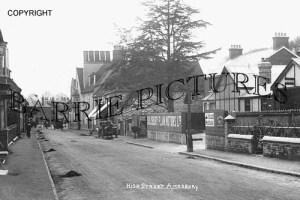 Amesbury, High Street c1930