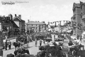 Chippenham, Market Day c1905