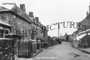 Codford, High Street c1910