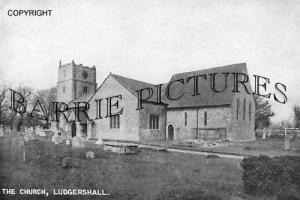 Ludgershall, Church c1910