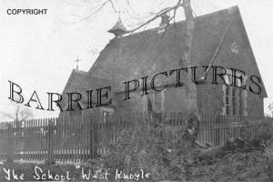 West Knoyle, The School c1910