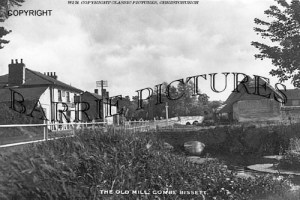 Coombe Bissett, The Old Mill c1940