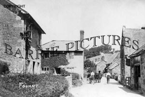 Fovant, Village c1910