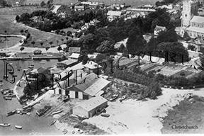 Christchurch, Boat Yard c1950