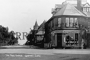 Canford Cliffs, The Post Office c1930
