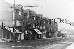Branksome, The Parade c1910